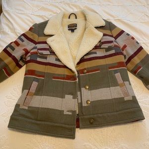 Pendleton coat - never worn